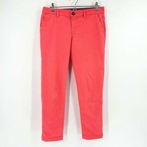 Tommy Hilfiger Coral Pink Skinny Leg Pants